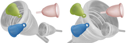La coupe menstruelle ou cup menstruelle qu 39 est ce que c 39 est - Insertion coupe menstruelle ...