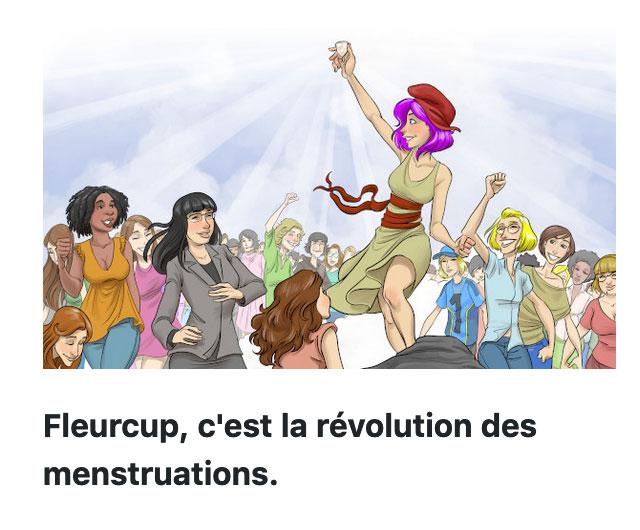 Fleurcup la révolution des menstruations
