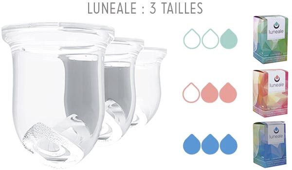 3 tailles - Lunéale