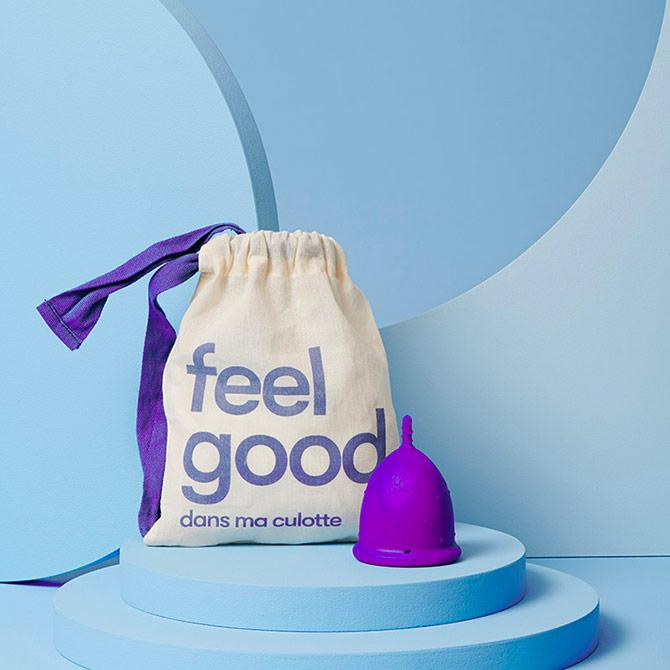 cup menstruelle Dans Ma Culotte large couleur violette