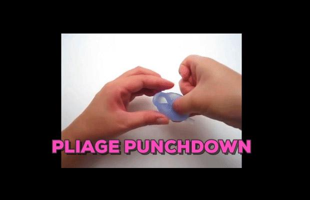 Le pliage en Punchdown de la cup
