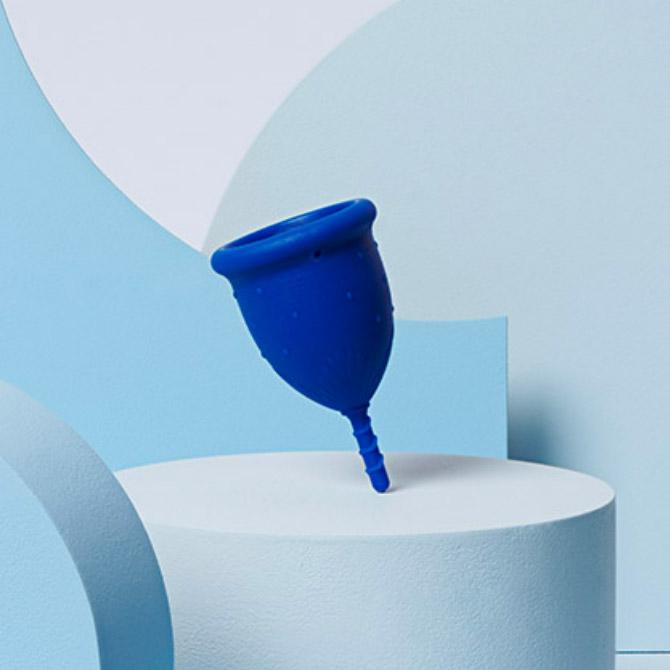 cup menstruelle Dans Ma Culotte flux léger bleu foncé