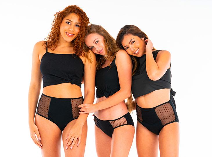 2 culottes (taille normale ou taille haute) gamme Splendea