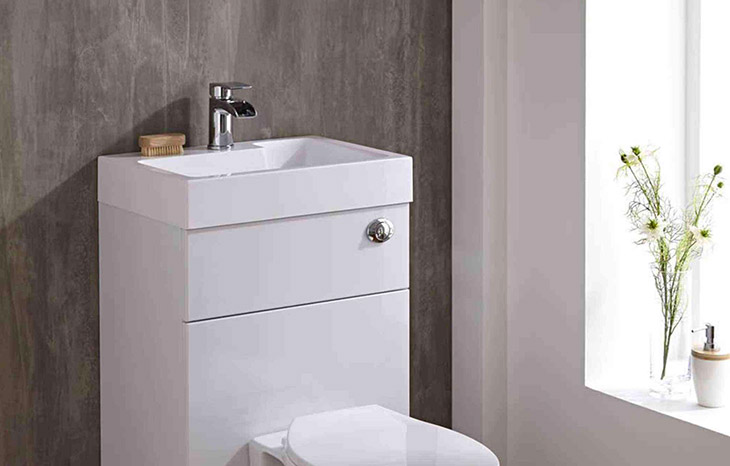 wc lavabo avec lave-main intégré