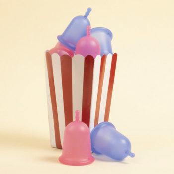 coupe menstruelle Mïu en bleu ou en rose
