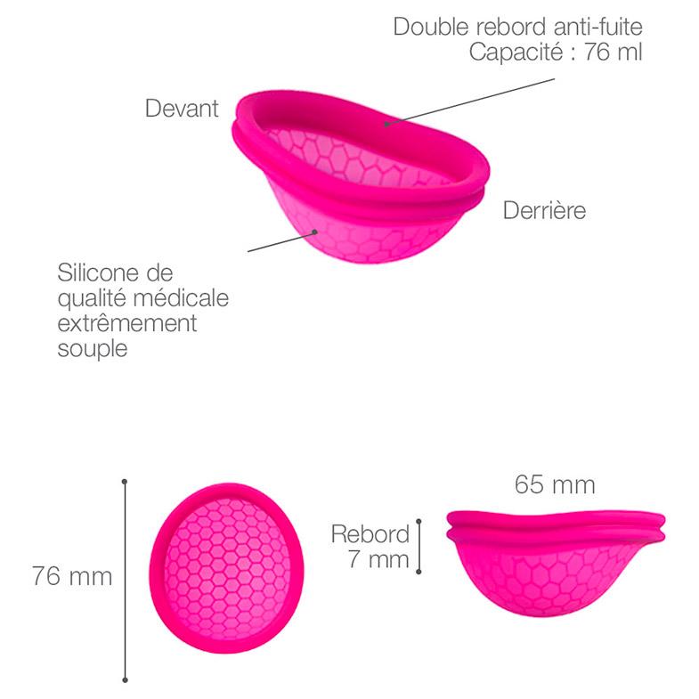 Description de la Ziggy cup : taille, contenance